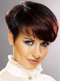pictures of the back of a wedge hair cut a classic wedge hair cut with short back and sides and long top