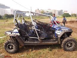 jeep buggy for sale polaris 4 x 4 in india team bhp