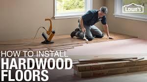how to cut through subfloor engineered hardwood floor installation part 1