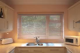 Kitchen Window Blinds by Wooden Venetian Blinds Made To Measure Pure Wood S Craft