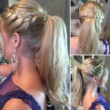 hair braided into pony tail 30 fantastic french braid ponytails