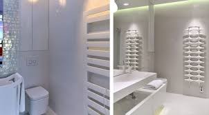 Modern Apartment Bathroom - stylish contemporary apartment boasting sophisticated lighting system
