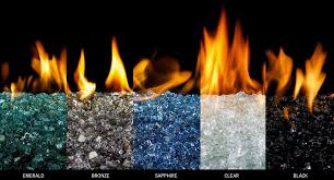 gas pit glass colored glass for gas fireplace gas logs fireplace