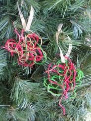 spaghetti ornaments