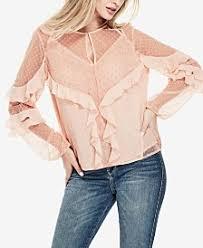 frilly blouse ruffle blouse shop ruffle blouse macy s