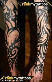 sleeve tattoos sleeve abstract tribal tribal