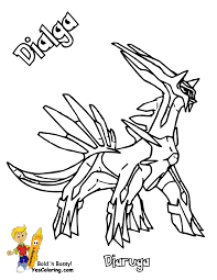 splendid design ideas pokemon coloring pages dialga decorative