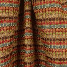 Stripe Drapery Fabric Hollywood Jewel Multi Geometric Striped Fabric Traditional