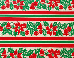 vintage christmas wrapping paper christmas wrapping paper stripes happy holidays