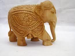 wood craft jaali elephant buy in mumbai