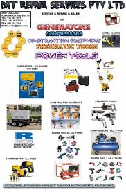 dat repair services pty ltd supply service and repair to