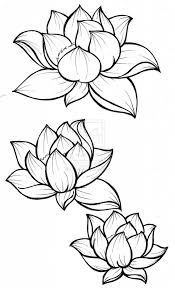 lotus blossom drawing free download japanese lotus flower tattoo