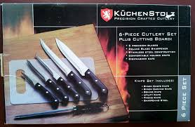 dishwasher safe kitchen knives amazon com kuchen stolz precision crafted cutlery 6 piece set