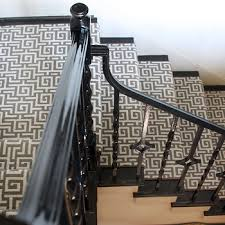black staircase staircase runners design ideas