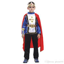Figured Halloween Costumes 2017 Shanghai Story Retail 4 Size Boys Halloween Arab King