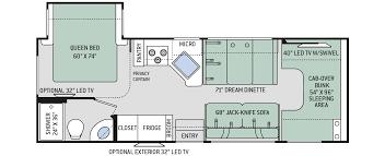 class b rv floor plans four winds class c motorhomes floor plan 26b thor motor coach