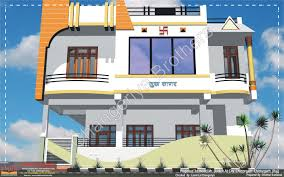 Rajasthani Home Design Plans by Sukha Sagar 30x60 3d Model Elevation Indian Architect