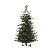 martha stewart living 9 ft pre lit feel real norwegian spruce