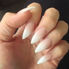 ombré french stiletto nails more luxury beauty winter nails