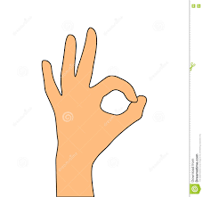 Okey Meme - hand okay symbol vector stock vector illustration of hand 75475900