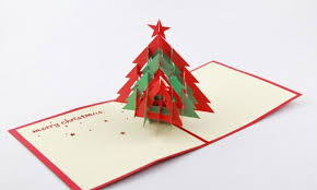 pop up tree 3d christmas tree 3d pop up card christmas cardfree shipping in