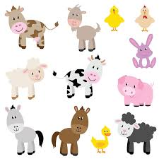 funberry farm nursery and bedroom wall sticker make over kit farm animals children s wall stickers set of 12 removable full colour wall art decals