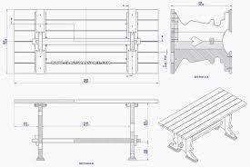 Picnic Table Plans Free Download by Drafting Table Plans Free Download