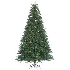 8 foot led christmas tree white lights 8 ft indoor pre lit hudson pine artificial christmas tree with 700