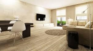 contemporary hardwood floor living interior design