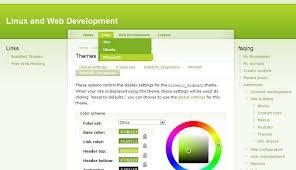 theme drupal menu block garland drop down menu for drupal 6 is here linux and web development