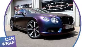 bentley rapide bentley continental gt wrapped in satin rushing riptide youtube