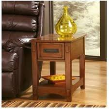 Chair Side End Table Espresso Chairside End Table By Ashley Furniture