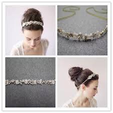 handmade hair new design bridal handmade hair bands pearl wedding