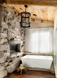 rustic bathroom decorating ideas stunning rustic bathroom ideas with small tub rustic bathroom
