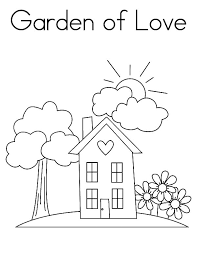 garden love coloring pages garden love coloring pages