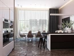 modern neutral dining room kitchen 3 interior design ideas norma