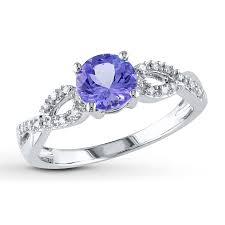 tanzanite engagement ring engagement rings wedding rings diamonds charms jewelry from