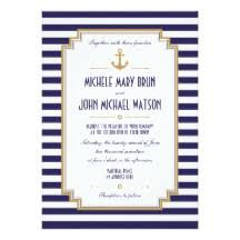 nautical wedding sayings nautical invitations announcements zazzle