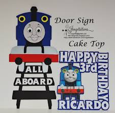 thomas the train birthday party invitations goody bags banner