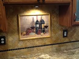 kitchen tile murals backsplash kitchen tiles of wine backsplash ideas bread and wine tile mural