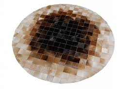 Brown And Beige Area Rug Round Beige And Brown Leather Area Rug Shine Rugs