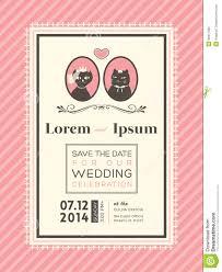 cute wedding invitation frame template stock vector image 39317393