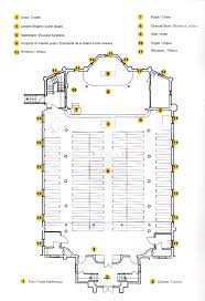 Church Floor Plans by Heritage Trust Of Nova Scotia Painted Rooms Project St John U0027s
