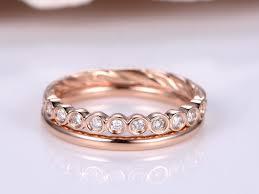 plain engagement ring with diamond wedding band diamond ring set half eternity diamond wedding band plain gold