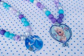 Elsa Halloween Costumes Kids Diy Frozen Elsa Necklace Project Kids Merriment Design