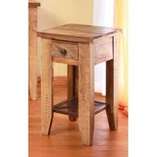 Pine End Tables Pine Two Tone Rustic End Table Tanmeron Rc Willey Furniture Store