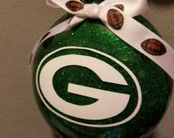 green bay packers ornament etsy