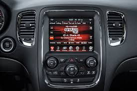 dodge durango stereo 2014 dodge durango in dodge durango rt radio on cars