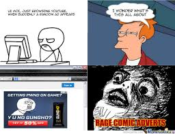 Advertising Meme - advertising a rage comic advertisement in a rage comic by atarix