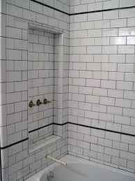 Bathroom Tiles Ideas Pictures 106 Best White Subway Tile Bathrooms Images On Pinterest